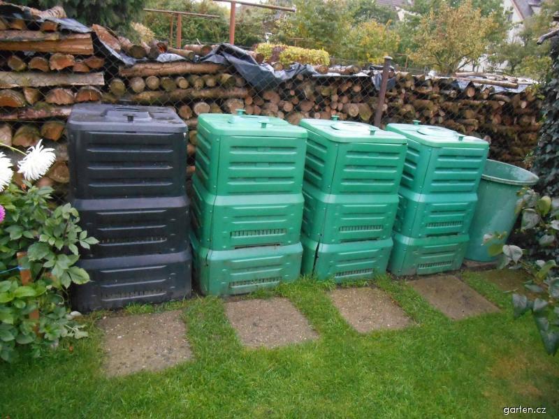 Kompostování - plastové kompostéry